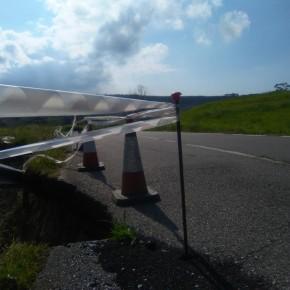 C´s denuncia el estado de la carretera de El Puerto de Santa María del Mar