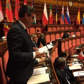 Prendes defiende en Roma que la cohesión social ponga el acento en el desarrollo de oportunidades para mujeres y jóvenes
