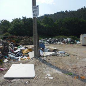 """Cs denuncia la situación del """"Punto Limpio"""" situado en la zona de La Capitana"""