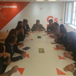 """Villegas: """"Ciudadanos tiene como objetivo ser un partido de Gobierno en Asturias en 2019"""""""