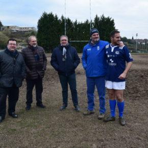 Ciudadanos Oviedo pide al tripartito que apruebe las obras para arreglar el drenaje del campo del Oviedo Rugby y salvar así la próxima temporada