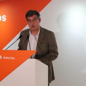 Ciudadanos pide a Javier Fernández que le exija a Pedro Sánchez cumplir su palabra de abordar de inmediato la reforma de la financiación autonómica