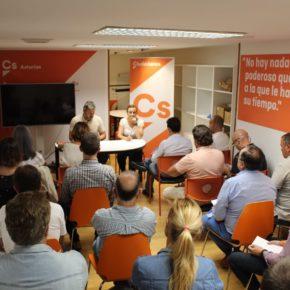 Ciudadanos comienza a fijar objetivos con sus Grupos Locales de cara a incrementar la estructura del partido en Asturias