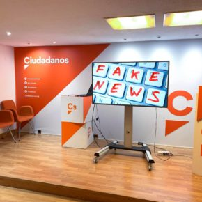 """El pasado miércoles, los jóvenes y afiliados de Ciudadanos Asturias tuvimos la  oportunidad de aprender más sobre las """"fake news"""""""