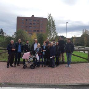 Ciudadanos se reúne con vecinos del Polígono de La Magdalena y de la Grandiella