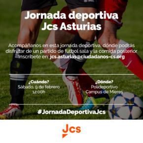 Los jóvenes de Ciudadanos Asturias celebran una Jornada Deportiva en Mieres