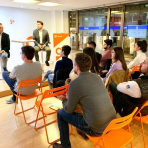 Jóvenes de Ciudadanos Asturias organizan una charla sobre comunicación digital