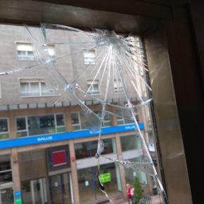 Ciudadanos denuncia un acto vandálico contra su sede en Asturias