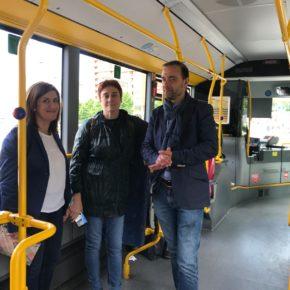 """Carmen Pérez Soberón: """"Implantaremos un transporte público eficiente y barato"""""""