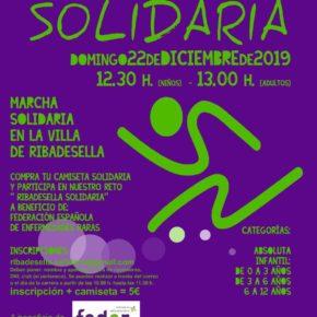 Ribadesella Solidaria corre por las enfermedades raras