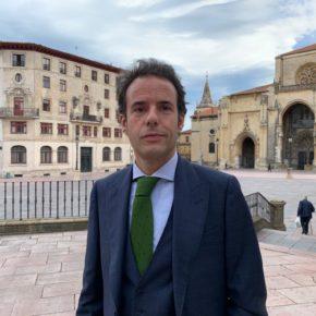 Primeras palabras de Nacho Cuesta como portavoz autonómico de Ciudadanos Asturias
