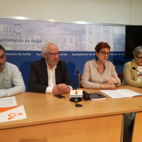 Ciudadanos Avilés alcanza un acuerdo con el PSOE para aprobar los presupuestos municipales de 2020