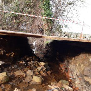 Cs Colunga exige al equipo de gobierno que concluya las obras del camino público de Los Caleyones