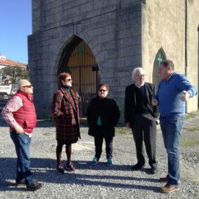 Los vecinos de Valliniello piden a Ciudadanos Avilés una reforma del entorno de la iglesia