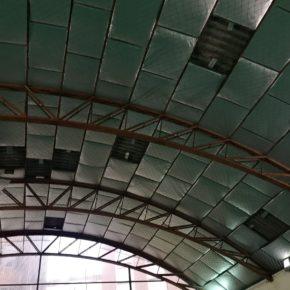 Ciudadanos reclama la reparación de la pista deportiva del C.P. Miguel de Cervantes