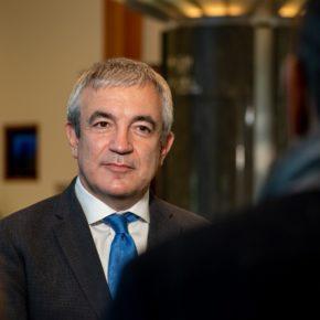 El eurodiputado de Ciudadanos Luis Garicano estará esta semana en Oviedo para hablar sobre fondos europeos ante un foro de empresarios en la Cámara de Comercio