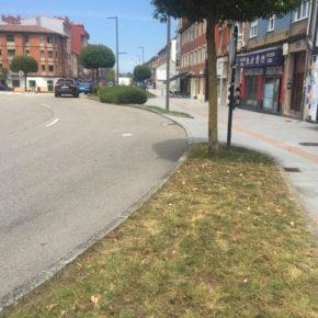 CiudadanosSiero solicita cambios en la ordenación del tráfico para la glorieta que une la Avenida de Oviedo y de Gijón de Lugones