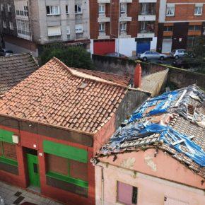Ciudadanos urge soluciones para las edificaciones abandonadas en el entorno de Cuatro Caminos (La Calzada)